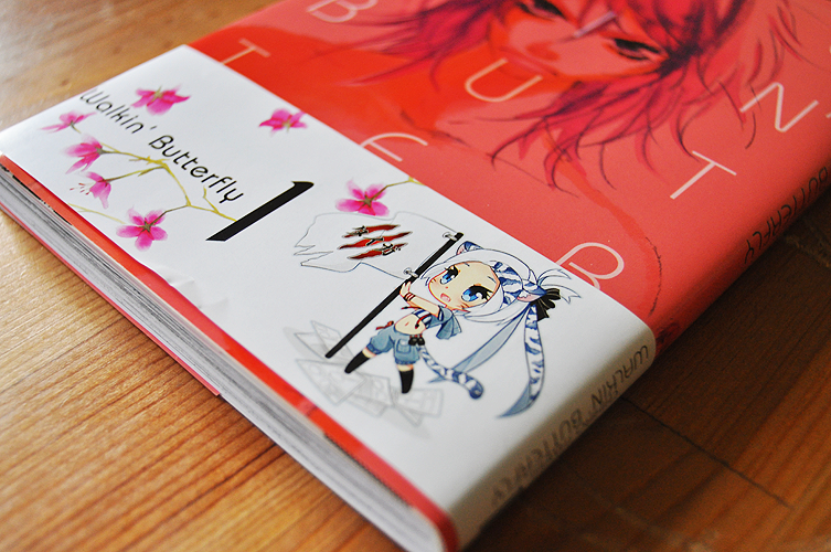 Recenzja Walkin' Butterfly Chihiro Tamaki wydawnictwo Taiga