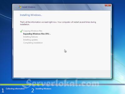Cara menginstall ulang windows 7