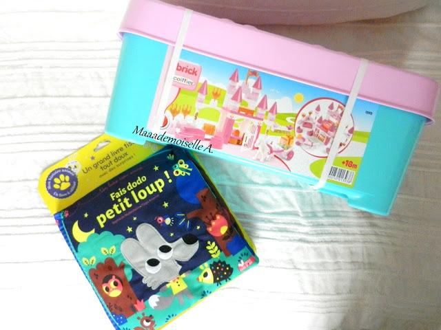 || Joyeux Noël ! - Idées cadeaux pour petite fille de 2 ans et demi et bébé de 7/8 mois Coffret Princesse Abrick et Fais dodo petit loup !