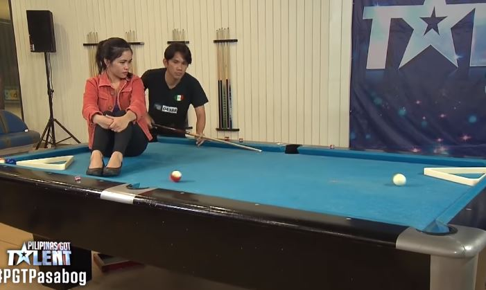 Jonacris Bandillo wows with billiards tricks on PGT