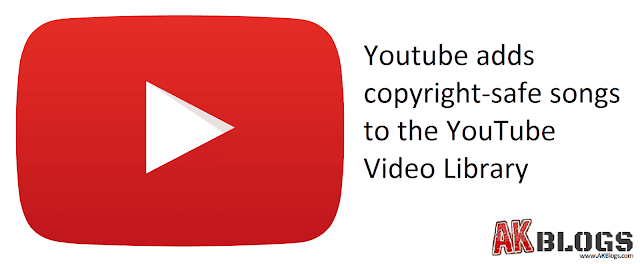 Youtube adds copyright-safe songs to the YouTube Audio Library