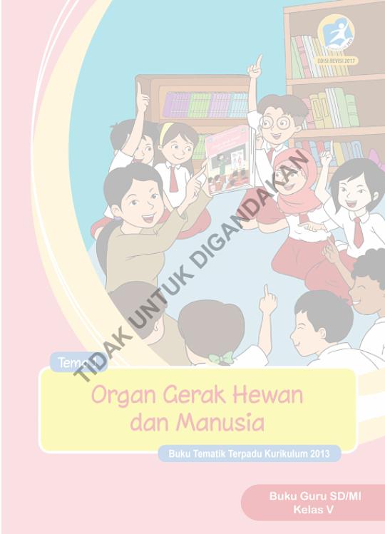 Buku Guru dan Siswa (Buku Tema) Kls 5 Kurikulum 2013 Edisi Revisi
