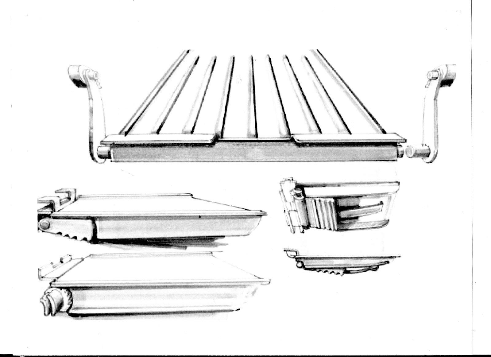 World of Seungmo: Marker sketches, stencil rendering