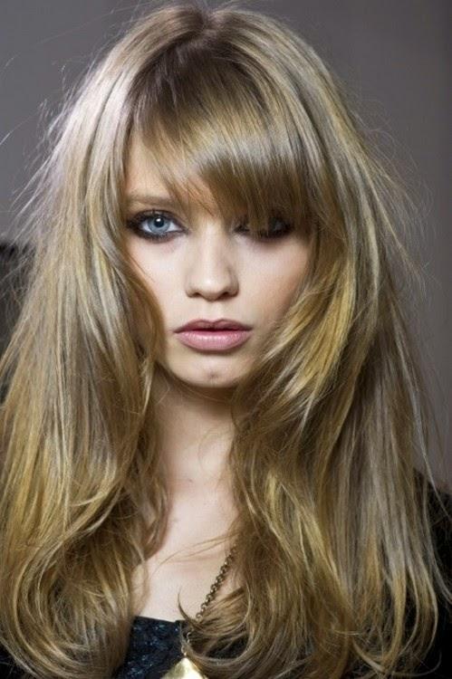 Kahkul Sac Modelleri Nuante Blond