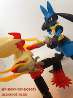 Lucario vs Mega Blaziken part 2