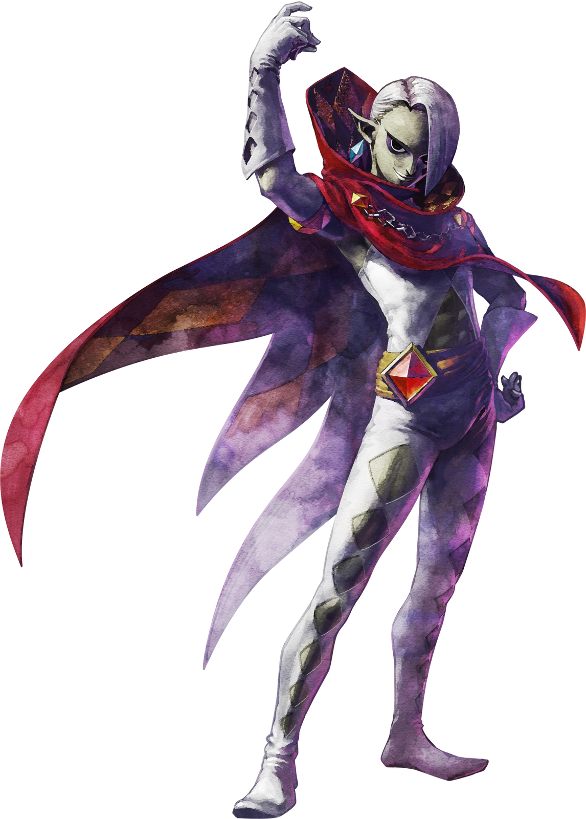 One Of The Most Flamboyant Characters In Zelda History Ghirahim