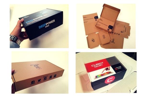 cajas para tiendas online de informatica, moviles y gadgets