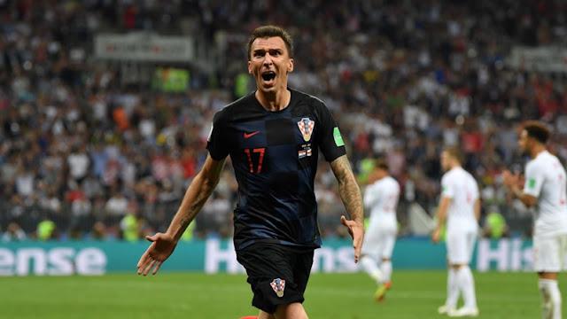 曼朱基奇破门反超 克罗地亚加时赛2-1淘汰英格兰