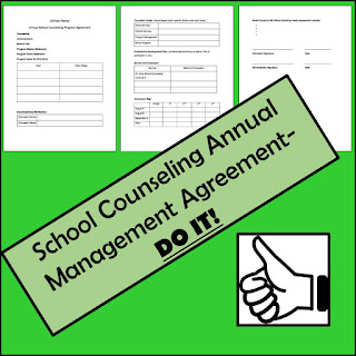 School counseling management agreement.