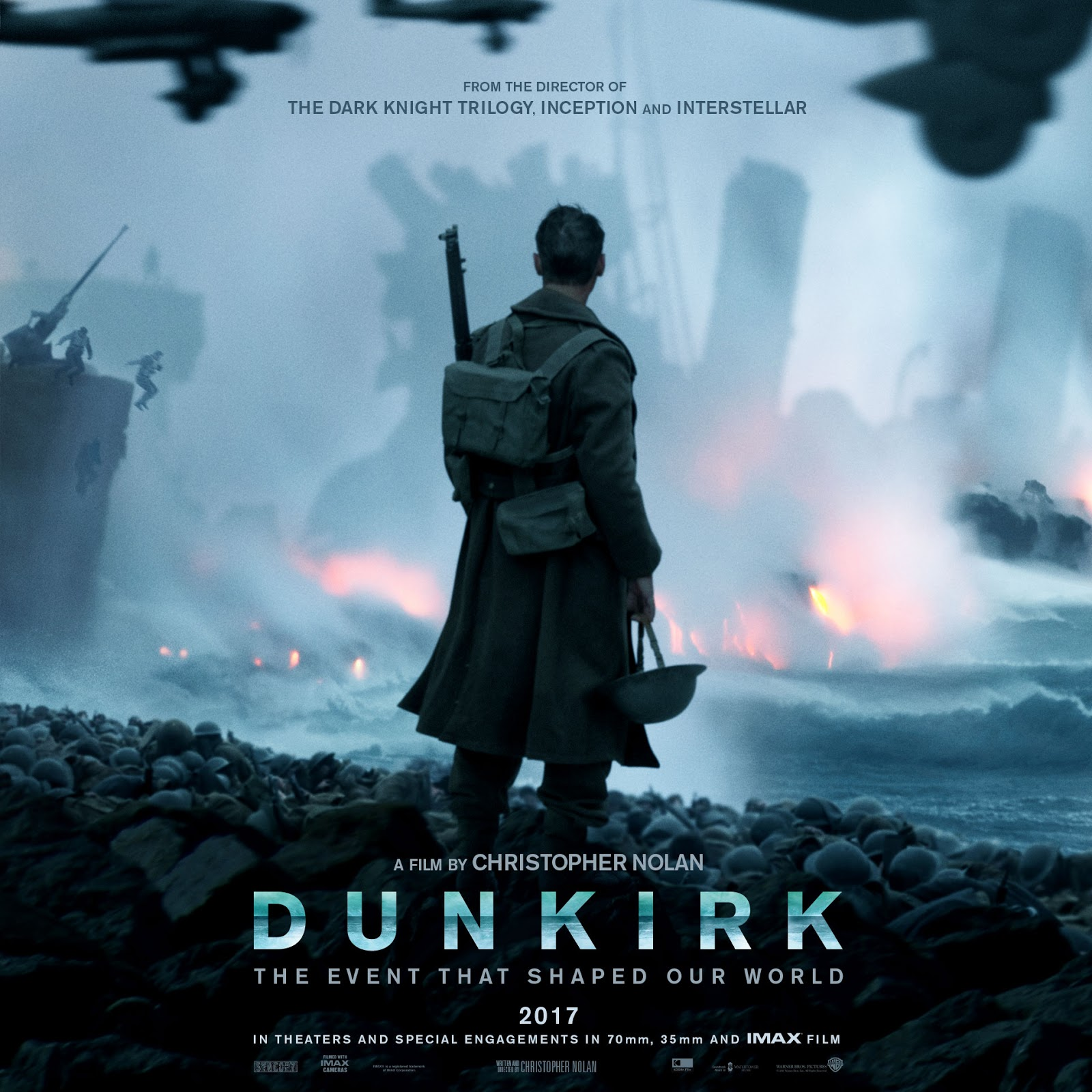 THE BOOM BOX IN THE PROJECTION ROOM Movie Review Dunkirk