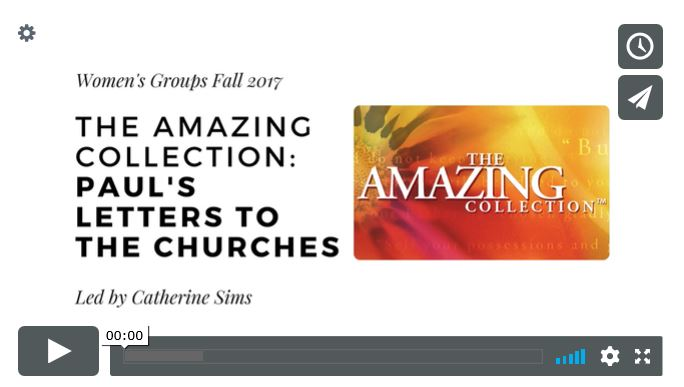 The Amazing Collection: Paul's Letters to the Churches
