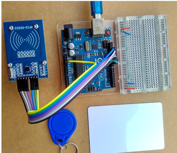 Interfacing the Cottonwood UHF RFID Reader with Arduino