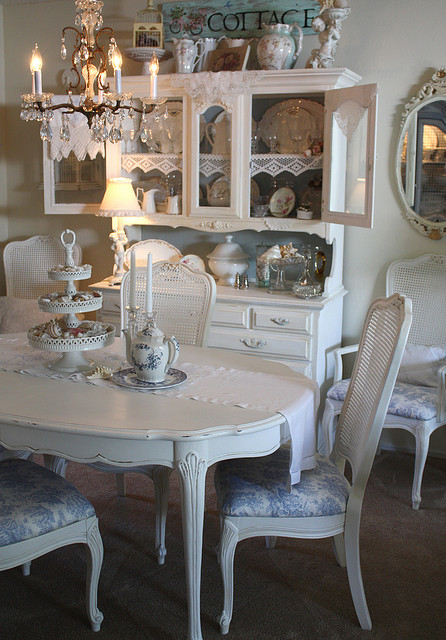shabby chic dining room furniture | Shabby Chic Dining