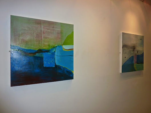 'Landslide': Solo Exhibtion in Leixlip Library, Feb 2015