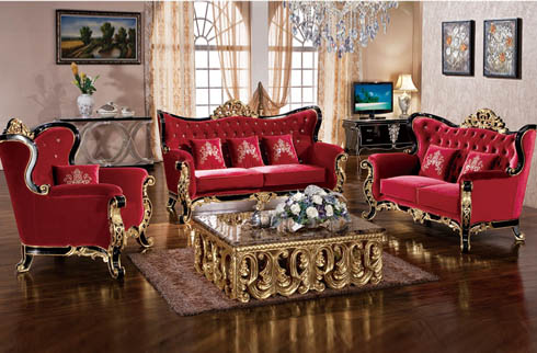 Cách bài trí sofa tân cổ điển theo phong thủy