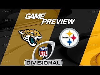Jaguars @ Steelers NFL Playoffs Divisional Round Simulation