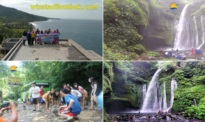 Mengunjungi Beberapa Objek Wisata di Lombok Utara