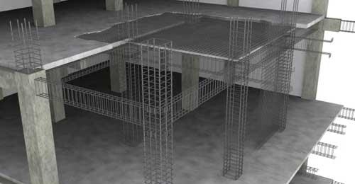 Menghtiung Dimensi Kolom dan Dimensi Balok serta Tebal Pelat Lantai