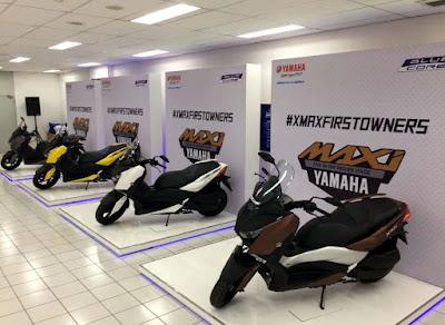 Empat Warna Baru Yamaha Xmax 250
