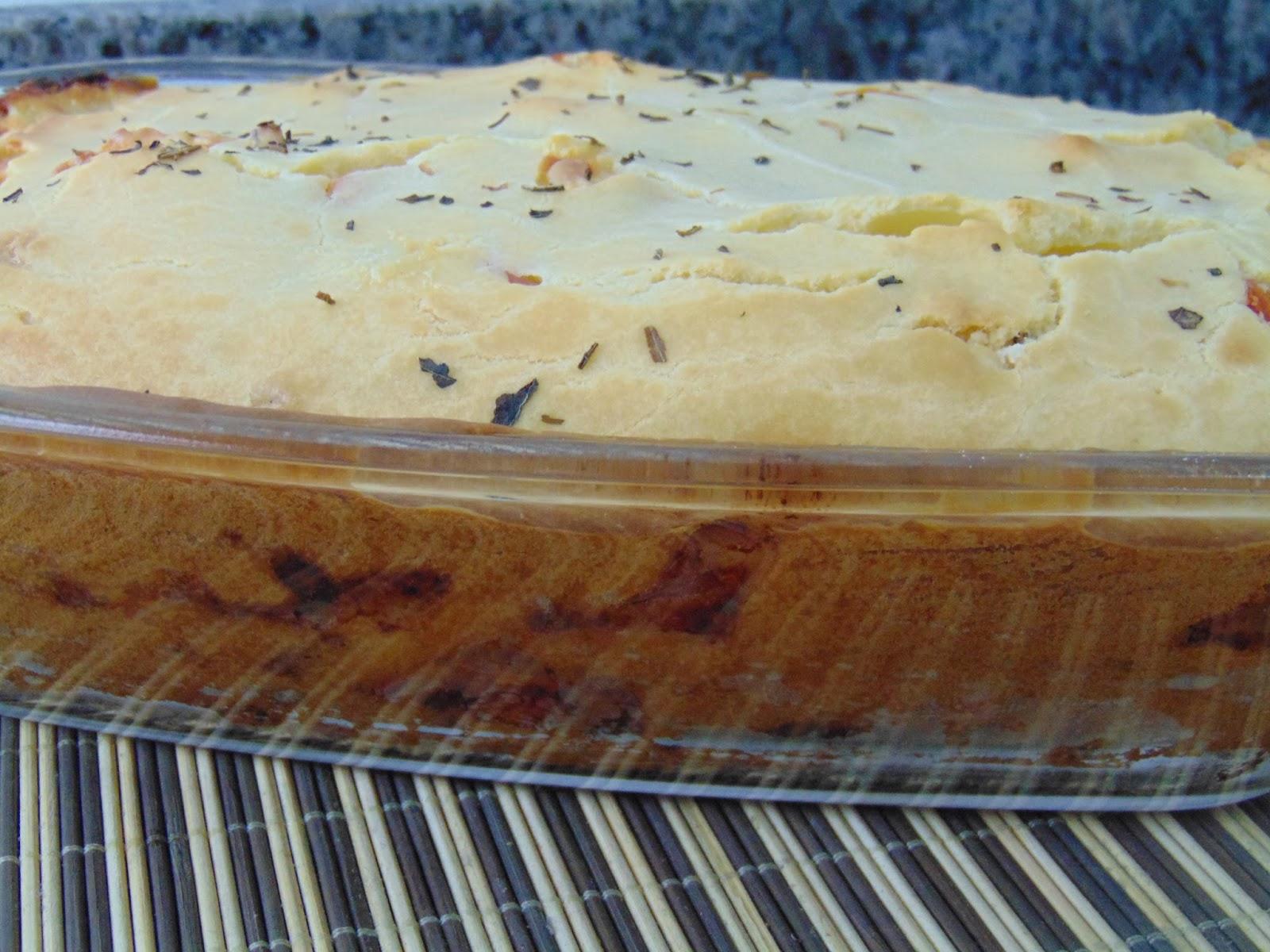 Receita Torta Salgada Fácil