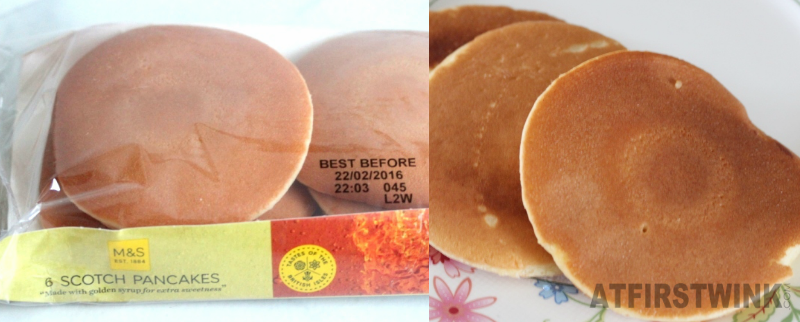 Marks and Spencer scotch pancakes