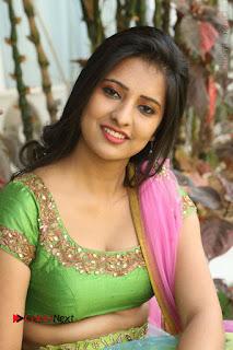 Actress Nikitha Bisht Stills in Lehenga Choli at Pochampally Ikat Art Mela Launch  0324.JPG