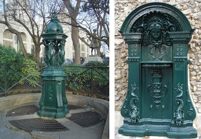 sposób na upał w Paryżu