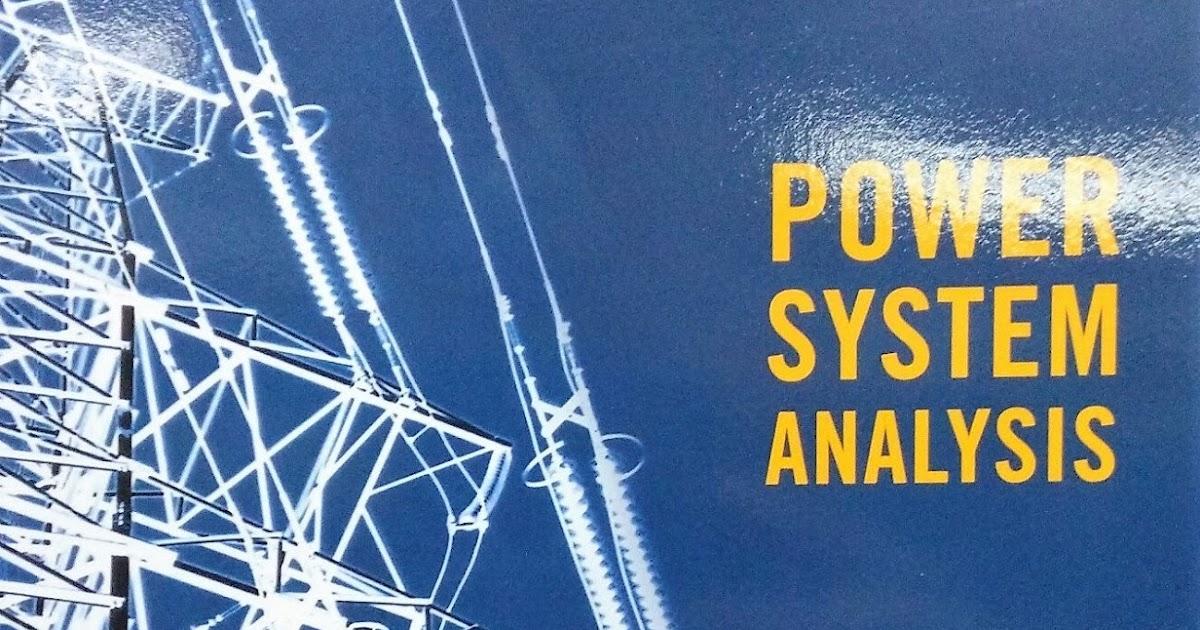 Elements Power System Analysis Stevenson Pdf