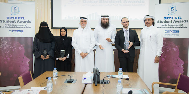 ORYX GTL Student Awards Celebrate 5th Anniversary with Clean Sweep of Qatari Winners