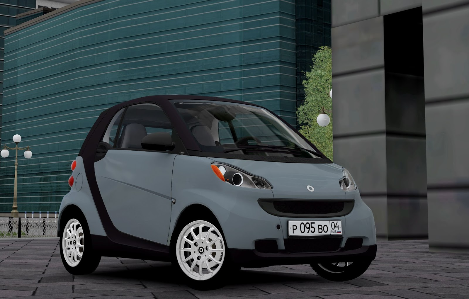 City Car Driving 1.5.5 Mod Smart Fortwo