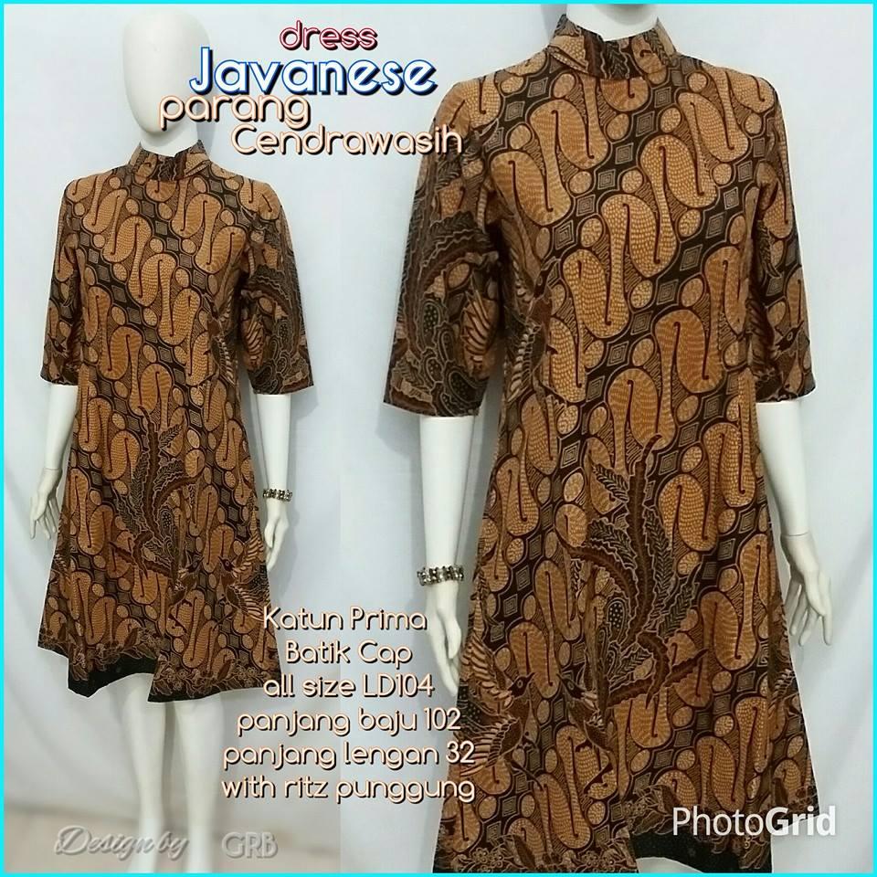 Baju Batik Kerja Wanita 6cbba0065b