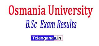 Osmania University B.Sc (Forestry) 4 Years (CBCS) 1 Exam Results