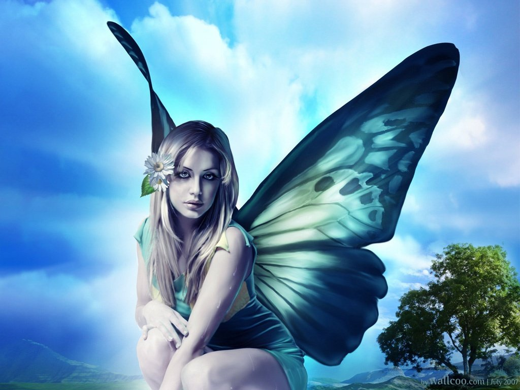 A Place For Free HD Wallpapers | Desktop Wallpapers: Fairy ...