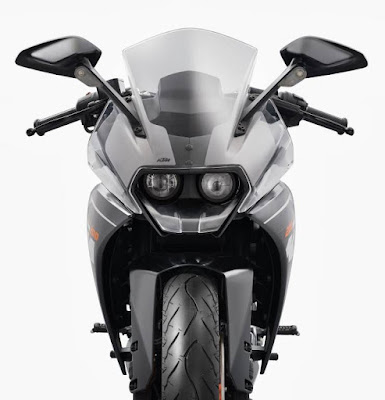 KTM RC 200 front look