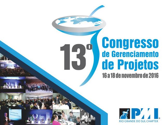 Aprendizado do 13º Congresso de Gerenciamento de Projetos do PMIRS