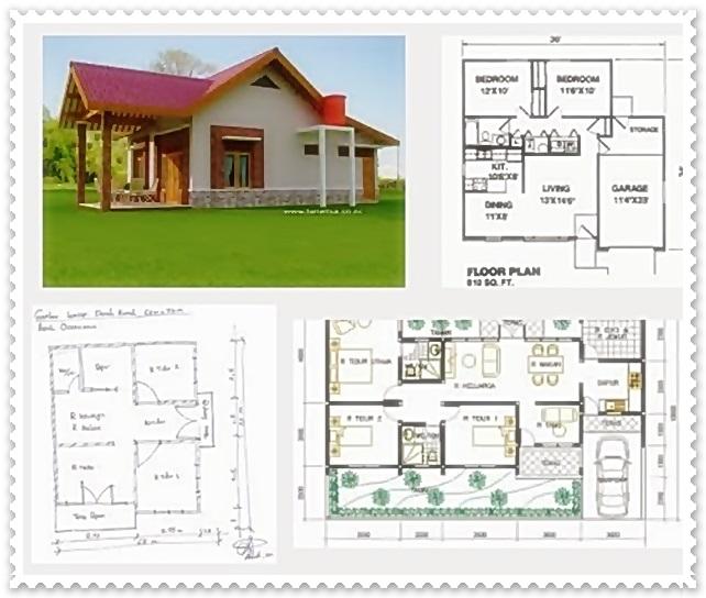 sketsa rumah minimalis 3 kamar