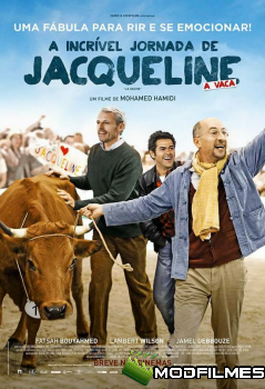 Capa do Filme A Incrível Jornada de Jacqueline
