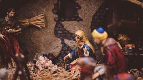 Nativity Scene. Christmas Season