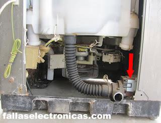 bomba de agua de lavadora electrolux