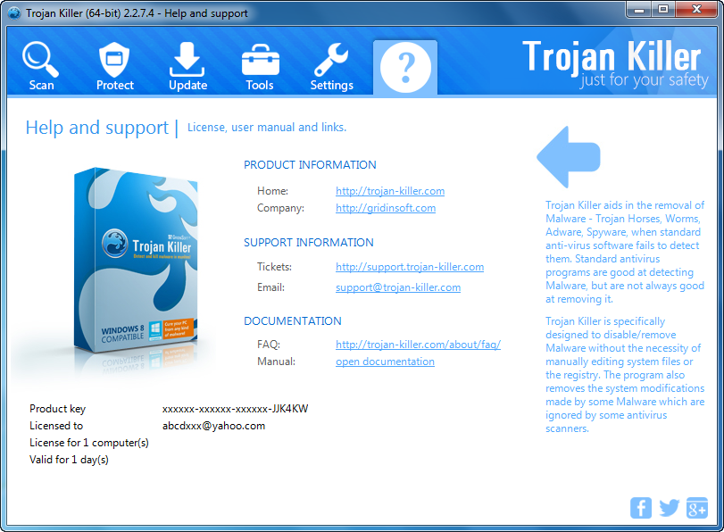 Get GridinSoft Trojan Killer 64 bit Patch