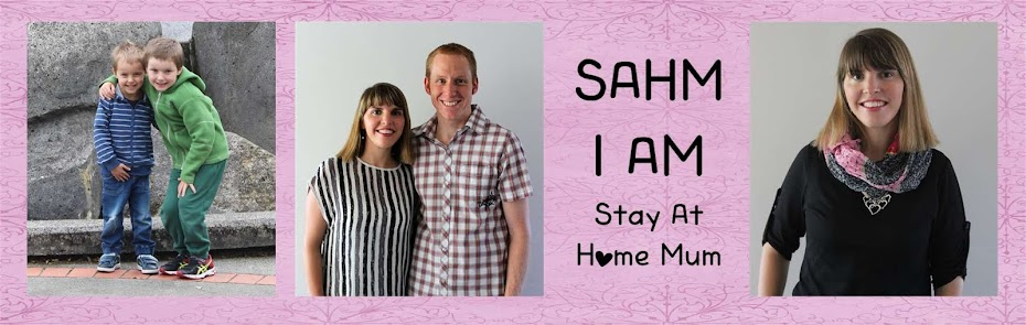 SAHM I am- Stay At Home Mum
