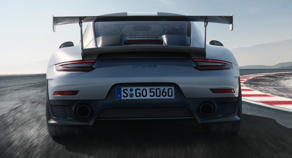 Porsche unveils the GT2, the most powerful 911 of all time