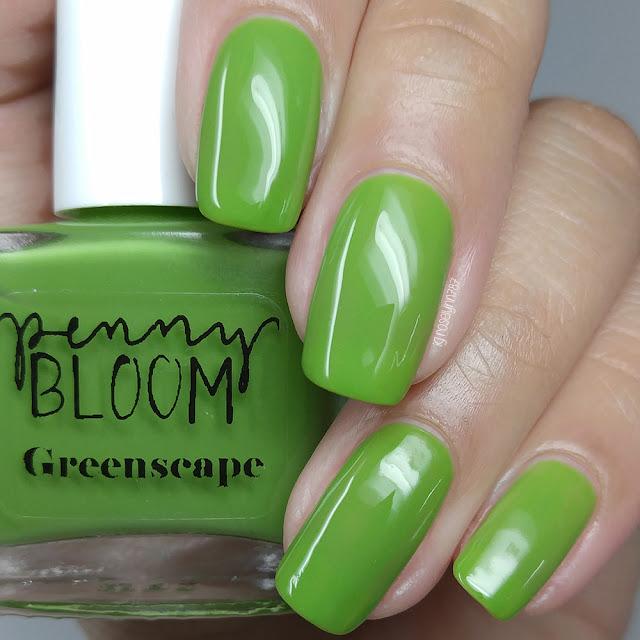 Penny Bloom Nail Polish - Greenscape