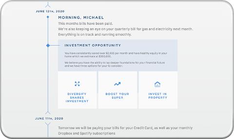 L'interface de banque de demain