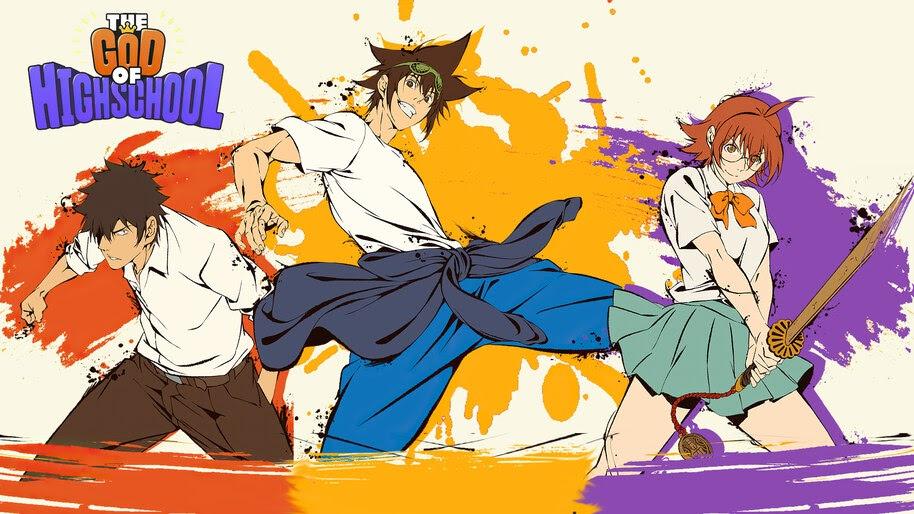 God of High School, Jin Mori, Han Daewi, Yoo Mira, 4K, #5.2296