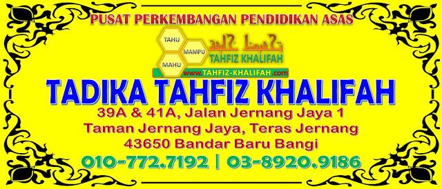 TADIKA TAHFIZ KHALIFAH