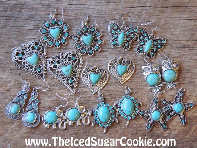 Turquoise Earrings- Unique, Cute, Trendy Jewelry For Girls