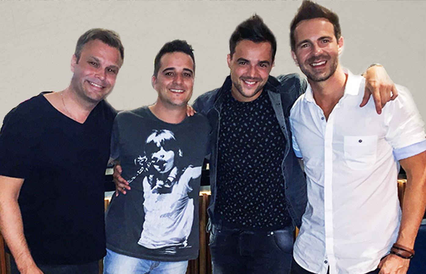 444259fa6e7 Lemon GreenTea  Paul Marazzi joins original band mates with ...