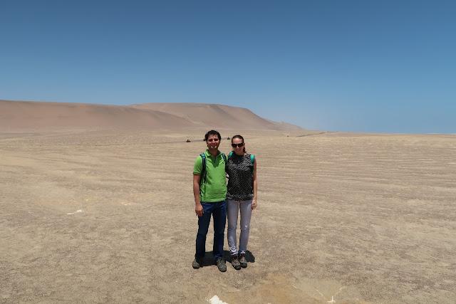 Desierto en la reserva nacional de Paracas