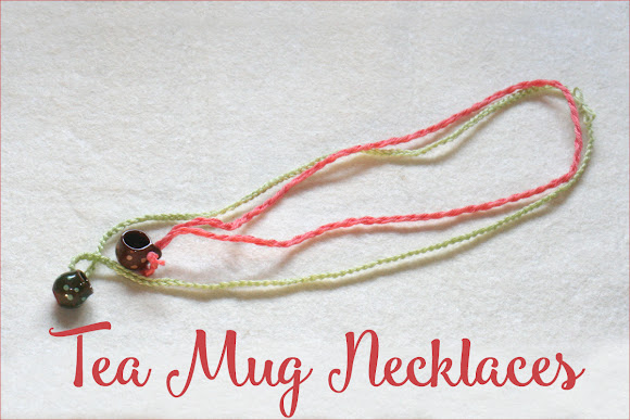 Tea Mug Necklaces
